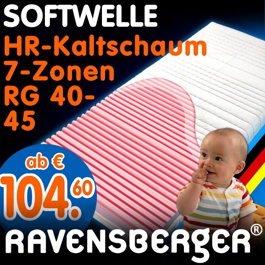 kaltschaum matratze f r kinderbett softwelle h1 90x200 ebay. Black Bedroom Furniture Sets. Home Design Ideas